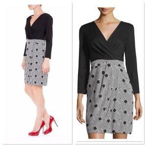 Diane von Furstenberg Gianna Geometric Silk dress